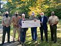 Wildlife Crime Stoppers receive donation
