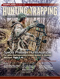 Cover of 2018-2019 Maryland Guide to Hunting & Trapping