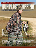 Cover of 2019-2020 Maryland Guide to Hunting & Trapping