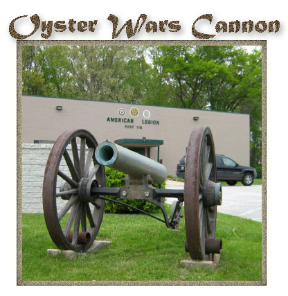 The Maryland Department of Natural Resources recently acquired the original cannon used by the Maryland State Oyster Police Force to control the oyster harvest in the Chesapeake Bay.