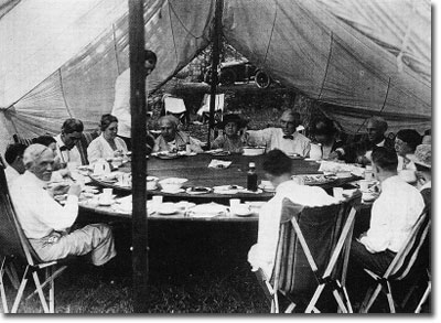 Camp table, 1921