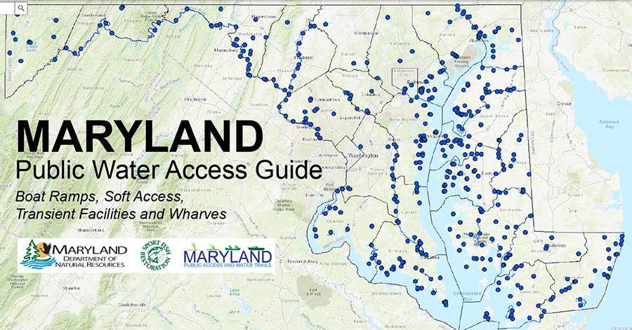 Maryland Public Water Access Guide