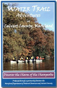 Calvert County Water Trails Guide Cover