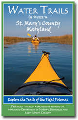 St. Mary's County Water Trails Guide Cover