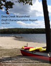Deep Creek Watershed Draft Characterization Report cover art