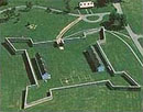 Aerial View of Fort Frederick