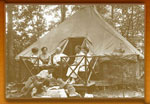 Family Camp site on the Patapsco Forest Reserve