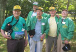 CCC veterans at Gambrill State Park Centennial Plaque Event