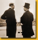 Gifford Pinchot speaking to President Theodore Roosevelt
