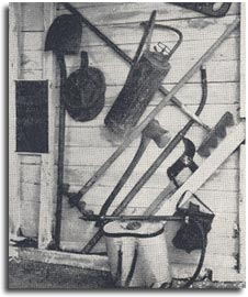 Hand tools used in 1928