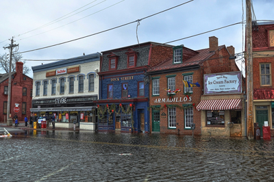 King Tide Downtown Annapolis