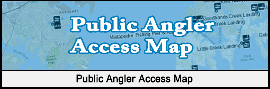 Public Angler Access Map