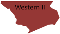 Inland Western Region II Map