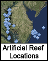 Artificial Reef Locations
