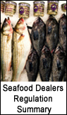Seafood Dealers Regulation Summary