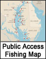 Public Fishing Access Map