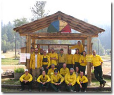 group photo at Southfork Fire