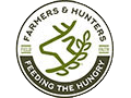 Farmers and Hunters Feeding the Hungry logo