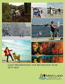 Cover of the 2019-2023 Land Preservation & Recreation Plan