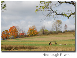 Photo Hinebaugh Easement - a field in Autumn