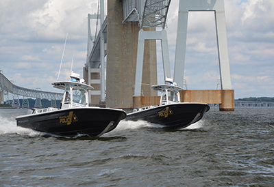 Maryland Natural Resource Police Patrol Boats