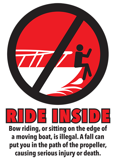 Ride Inside Boating Safety Poster