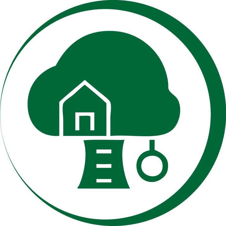 Nature Play Space Icon