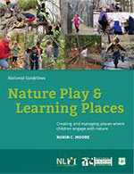 Cover art from Nature Play & Learning Spaces