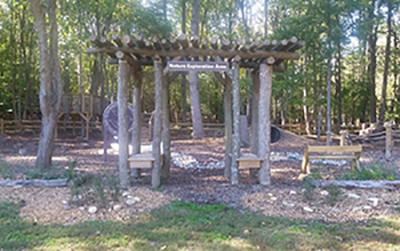 Entrance to the Nature Exploation Area in Patuxent River Park