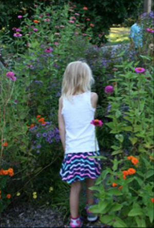 Flower Garden Path at Brown Memorial Weekday School