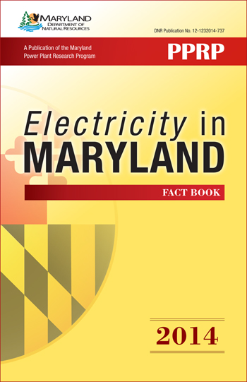 Cover of Electricity in Maryland Fact book