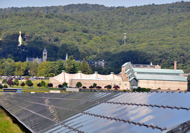 View of Mount Saint Mary's - Solar