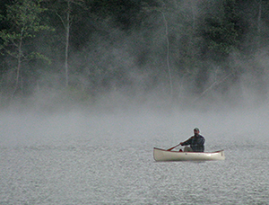 Canoeing Lake at Cunningham Falls State Park
