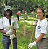 Conservation Job Corps members