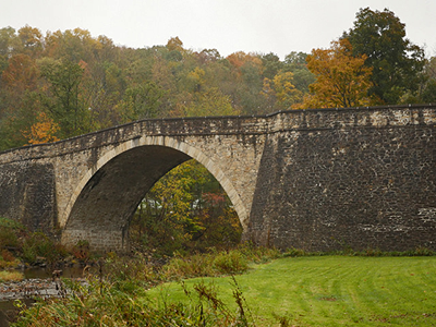 Casselman River Bridge, photo by Stephen Badger