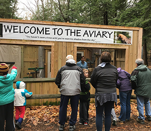 Aviary at Deep Creek Lake State Park
