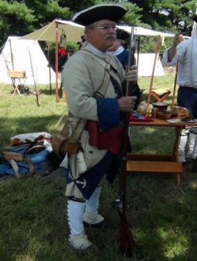French and Indian War Reenactment at Fort Frederick