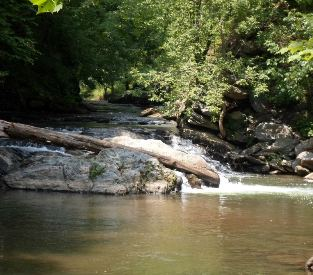 Parkton Falls at Gunpowder Falls State Park