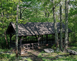 Pavilion at Gambrill State Park