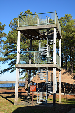 Janes Island State Park Observation Tower