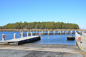 Janes Island State Park Pier, Dock, and Boat Ramp