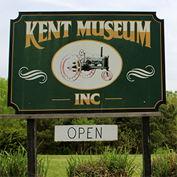 Kent County Museum Sign