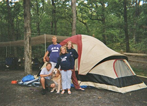 Campers at Rocky Gap State Park