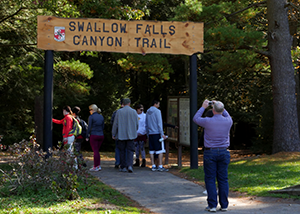 Entrance to Canyon Trail
