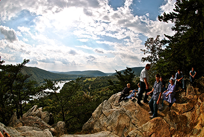 Weverton Cliffs Overlook on South Mountain