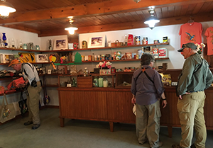 Interior of Friends Store at Sang Run State Park