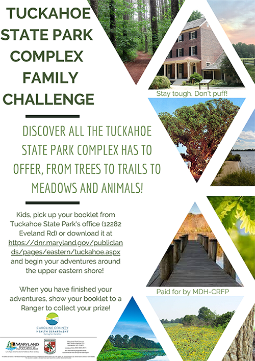 Tuckahoe State Park Complex Family Challenge