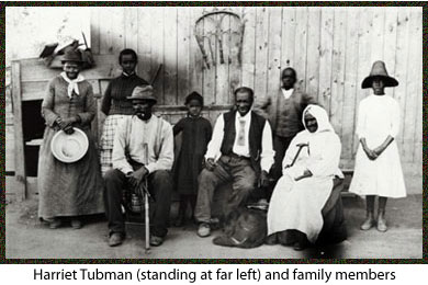 Harriet Tubman Family portrait