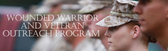 Wounded Warrior and Veteran Outreach Program