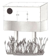 How to Build a Wall-Mounted or Free-Standing Nest Box